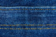 Close up of blue denim jeans. Denim jeans texture stock photos