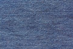 Close up of blue denim jeans. Denim jeans texture royalty free stock image