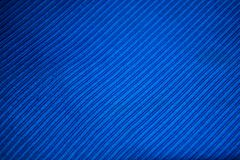 Blue fabric texture. A close up of a Blue fabric with lines stitching Stock Photos