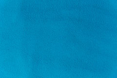 Close up blue fleece texture. Background Stock Images