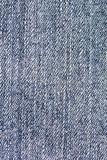 Close Up Blue Jean Fabric Texture Patterns Royalty Free Stock Image