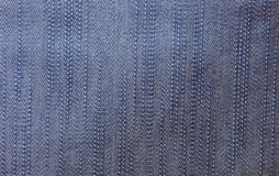 Blue jean texture. Royalty Free Stock Images