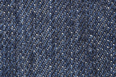 Close up of blue jean texture Royalty Free Stock Photography