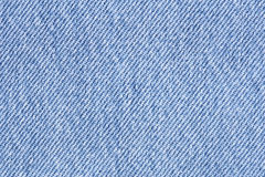 Close up of blue jean texture Stock Photos