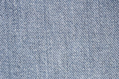 Close up of blue jean texture Royalty Free Stock Image