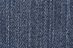 Close up of blue jean texture Stock Photo