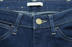 Close up blue jeans Stock Photos