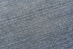 Close-up of blue jeans cloth. Stock Photography