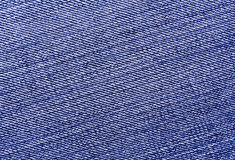 Close-up of blue jeans cloth. Stock Images