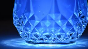 Close-up of Blue Reflection Royalty Free Stock Photos