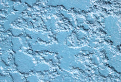 Close up blue texture wall Royalty Free Stock Images