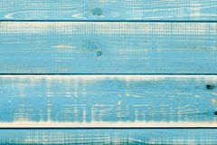 Blue wood background. A close up of a blue wood background Stock Image