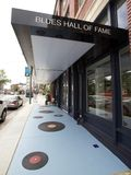 Close Up of The Blues Hall of Fame Building in Memphis, TN Stock Images