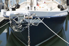 Close up of a boat in dock in california Royalty Free Stock Images