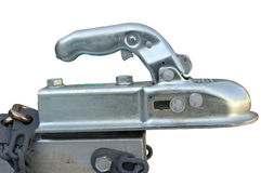 Close-up of a boat trailer hitch Stock Photos