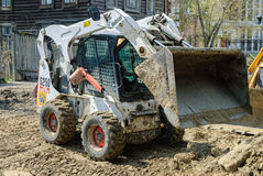 Close up of a bobcat or skid loader Stock Photo