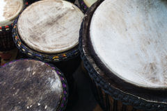 Close up Bongos Drums Royalty Free Stock Photography
