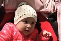 Close up bonito do bebê imagens de stock royalty free