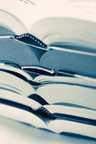 Close-up of book bindings Stock Photos