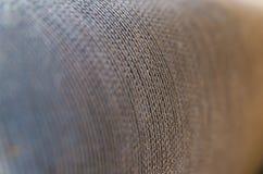 Close up borrado sumário do hd da textura de pano Foto de Stock Royalty Free