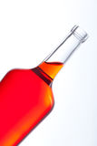 Close up of bottle with red fluid Stock Photos