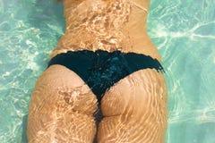 Close up bottom at beach Royalty Free Stock Photo