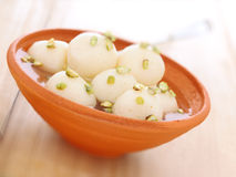 Indian rasgulla dessert Stock Photography