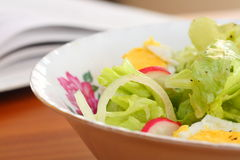 Bowl of salad Stock Image