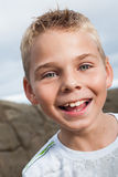 Close-up of a boy Royalty Free Stock Photo