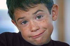 Close-up of Boy Royalty Free Stock Photos