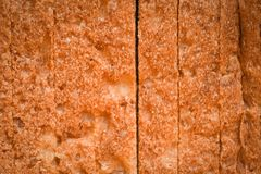 Close up bread sliced texture background - Whole wheat bread cut stock images