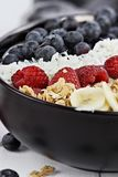 Close up of a Breakfast Buddha Bowl Royalty Free Stock Images