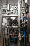 Close up of brewing mechanisms Royalty Free Stock Image