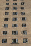 Close-up of brick residential projects, New Jersey Royalty Free Stock Photo