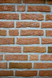 Close-up of a brick wall. Close-up of a brown brick wall Royalty Free Stock Photos