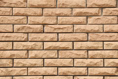 A close-up of a brick wall Royalty Free Stock Photography