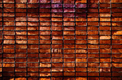 Close-up brick wall background Royalty Free Stock Photos