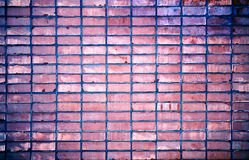 Close-up brick wall background Royalty Free Stock Images