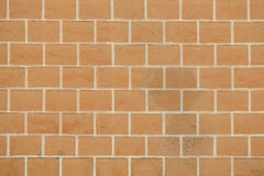 Close up of brick wall background Royalty Free Stock Photography