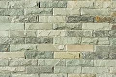 Close up of a brick-wall, Modern stone texture as background Stock Images