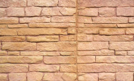 Close up of a brick-wall, Modern stone Stock Images