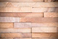 Close up of a brick-wall Royalty Free Stock Images