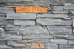 A close-up photo of a brick wall, showing structure and colour of bricks, aged and weathered. stock photos