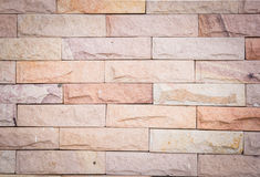 Close up of brick wall Stock Images