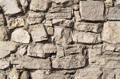 Close up of a brick-wall, texture background. Masonry Stone Wall, texture background Stock Image