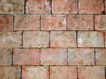 Close-up Brick walls. Background pattern Stock Photography
