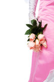 Close up of Bridal Bouquet Royalty Free Stock Images