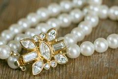 Bridal Bracelet Detail royalty free stock image