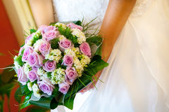 Bride bouquet. Royalty Free Stock Photography