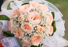 Close up brides blossom Royalty Free Stock Photo